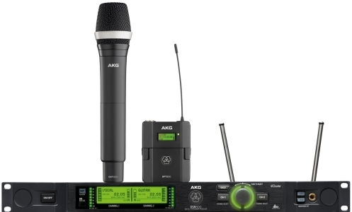 AKG DMS800 REFERENCE DIGITAL WIRELESS MICROPHONE SYSTEM