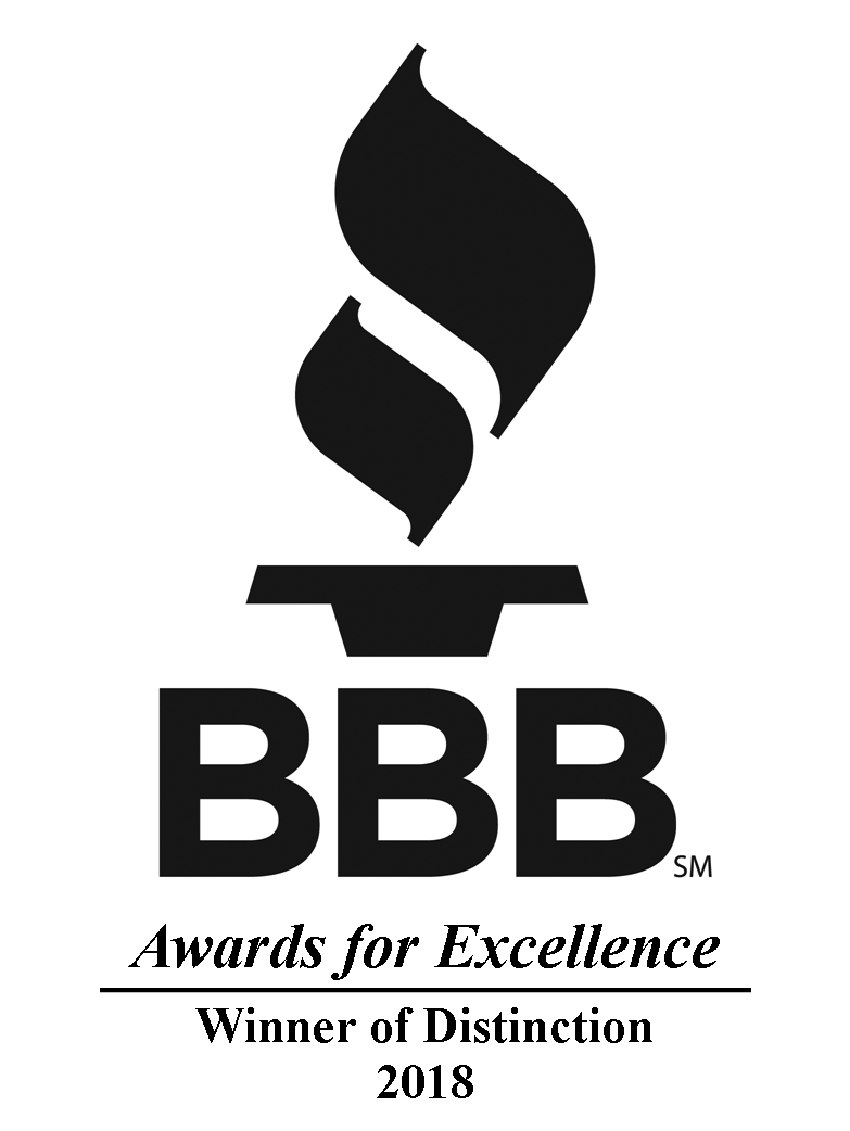 BBB Winner of Distinction 2018