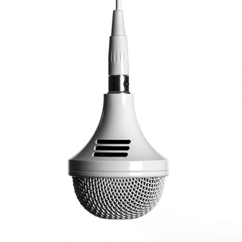 ClockAudio Tri-element motorized ceiling microphone
