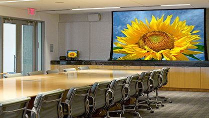 Audio Visual Projection Screens
