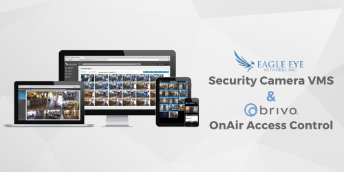 Eagle Eye Security Camera VMS and Brivo OnAir Access Control