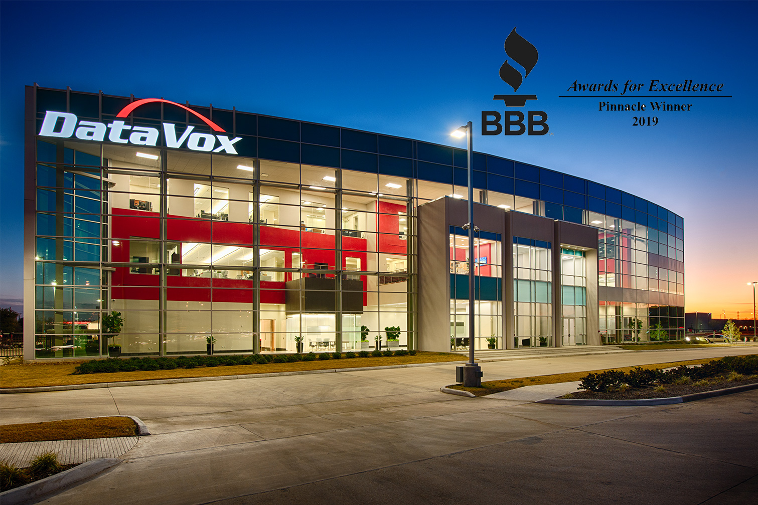 New DVX bulding with BBB