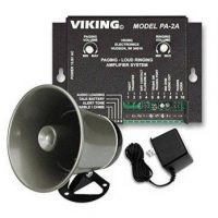 Viking Paging System with Amplifier and Speaker Horn